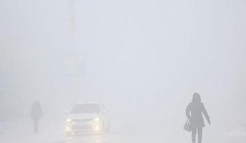 呼伦贝尔现冰雾天气 能见度不足30米 最低温度达零下50度